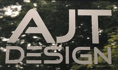 AJT DESIGN Decal - Black