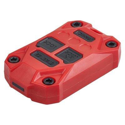 Injection Fob IF007 (Wrangler JK) - RED