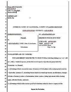 425 - Motion for Summary Judgment [minimum]