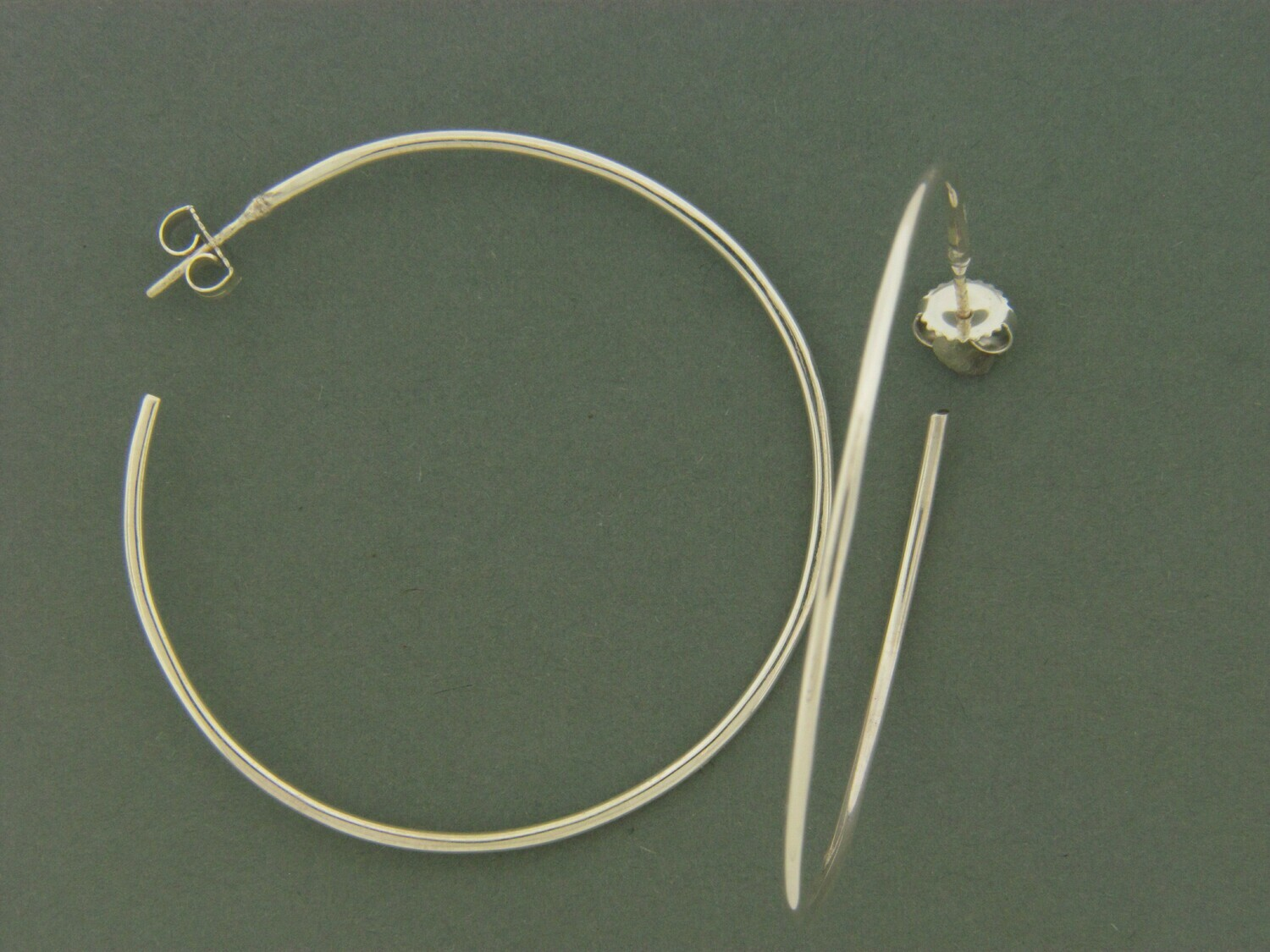 Large Round Hoops