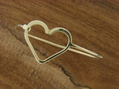 Large Heart Hook Bracelet