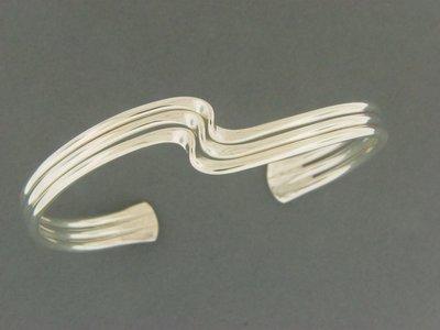Triple Wave Bracelet