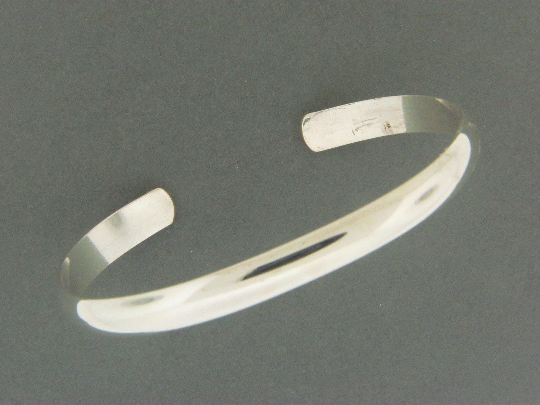 Half Round Cuff Bracelet