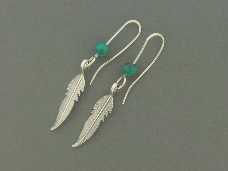 Feather w/Bead