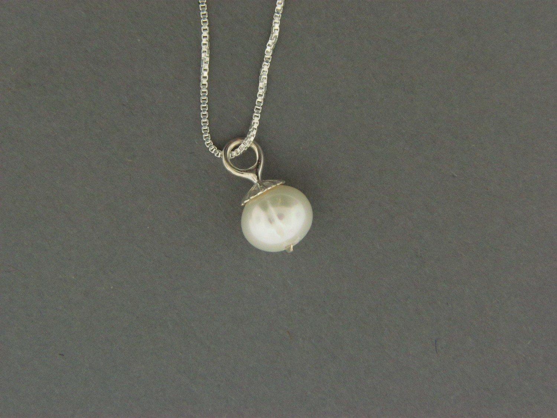 Fresh Water Pearl Drop Bead Pendant