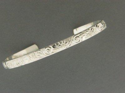 Print Swirl Cuff Bracelet