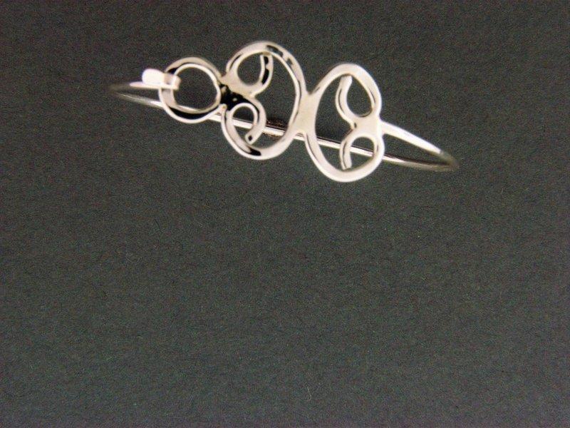 Child's Butterfly Hook Bracelet