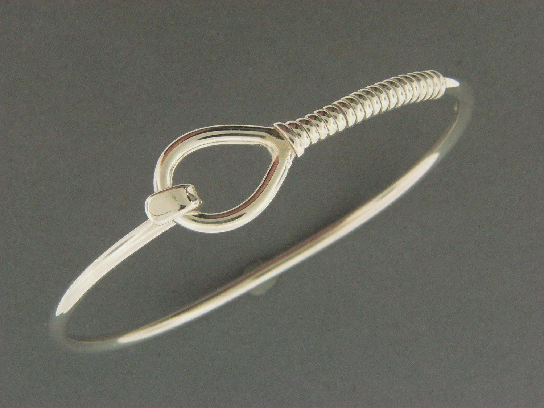 Heavy Lariat Hook Bracelet
