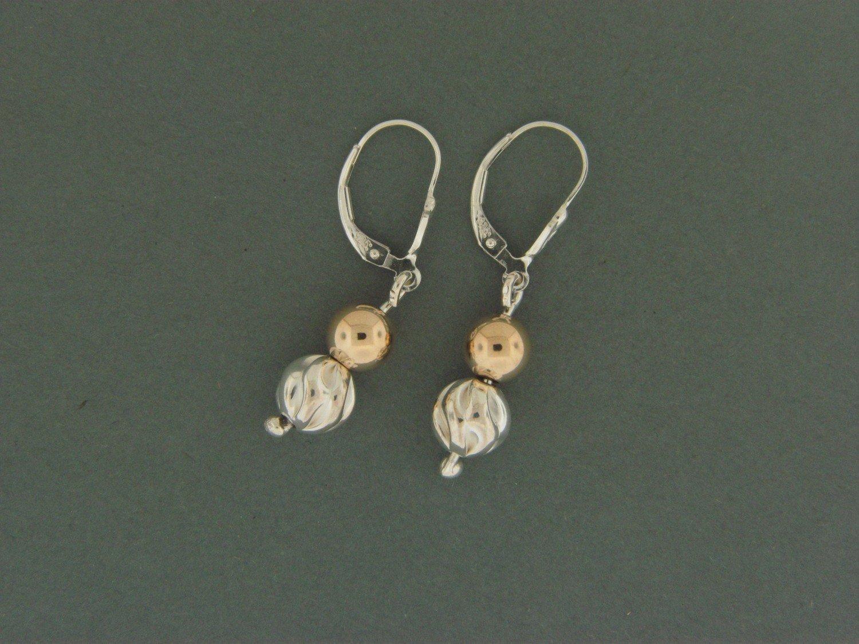 Fancy/ Gold Filled Leverback Earrings