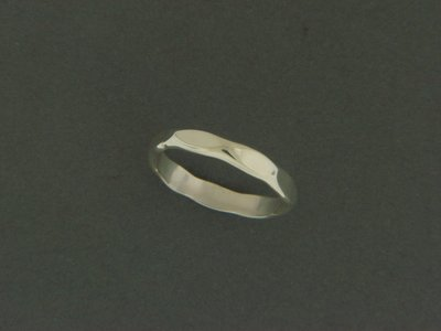 Medium Hammered Ring