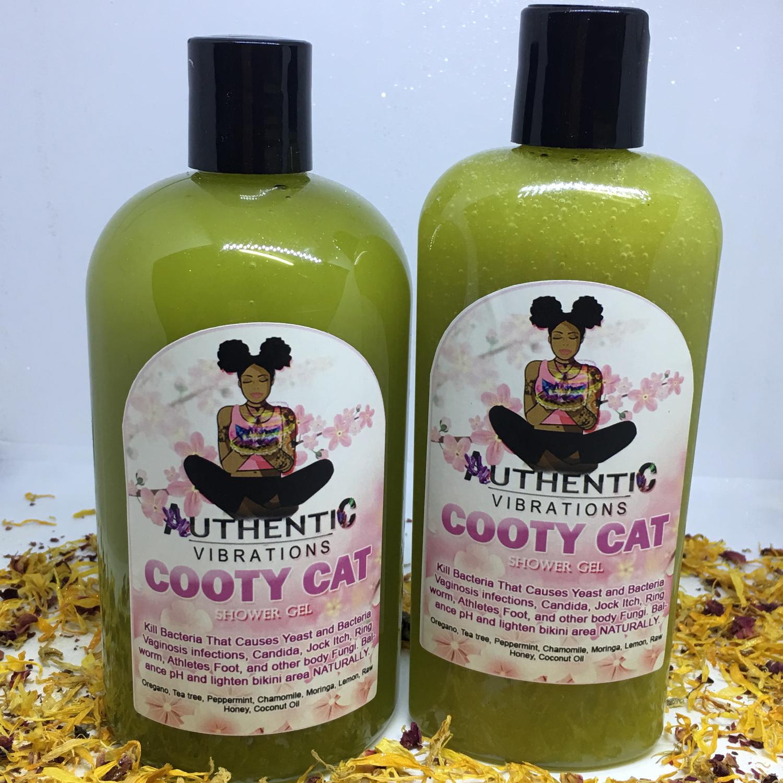 Cooty Cat Shower Gel