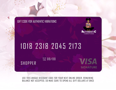 Authentic Vibes Gift Code