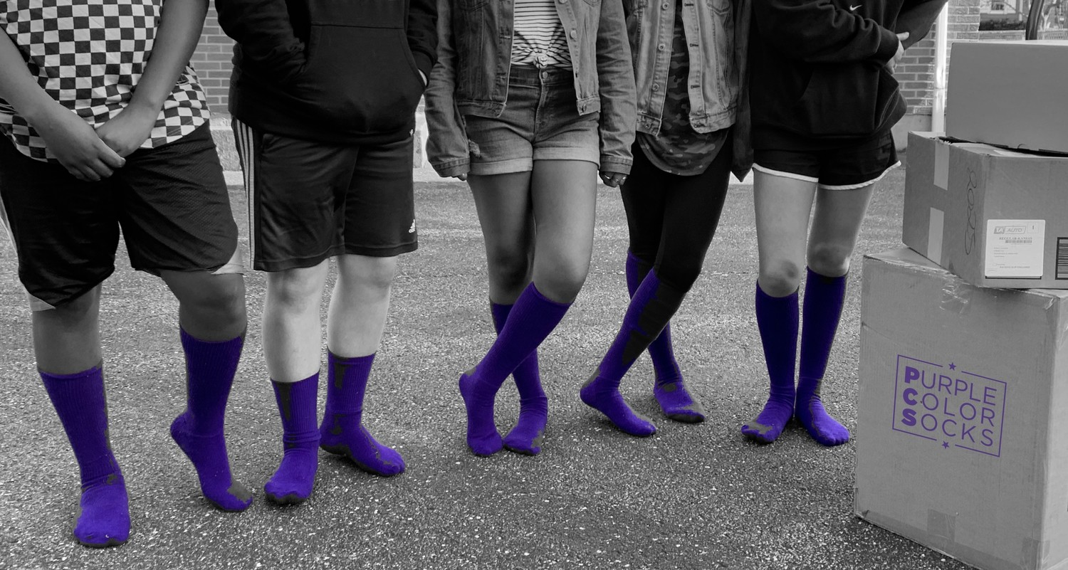 Purple Color Socks (PCS)