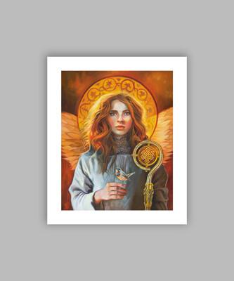 Angel of Compassion, 12x14 (image size 8x10), Giclée Fine Art Print