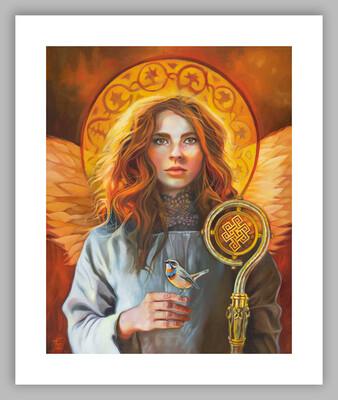 Angel of Compassion, 20x24 (image size 16x20), Giclée Fine Art Print