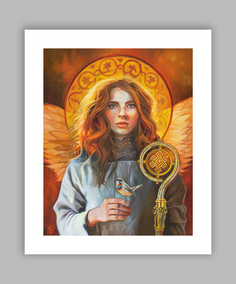 Angel of Compassion, 16x20 (image size 12x16), Giclée Fine Art Print