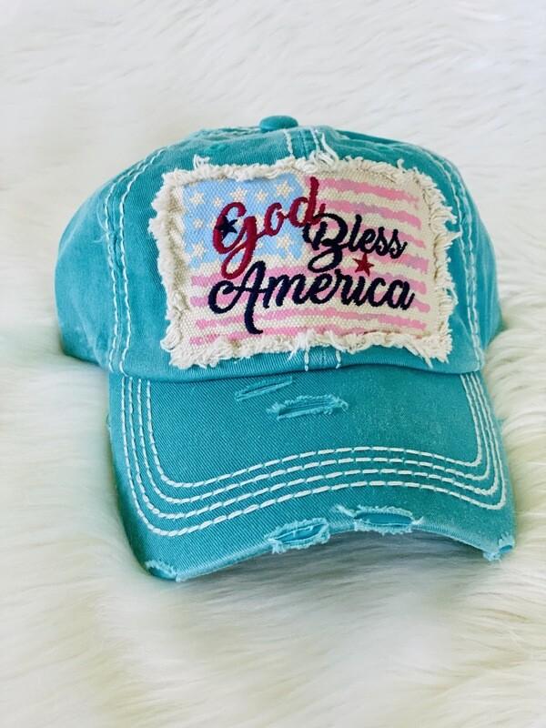 """""""God Bless America"""" Hat"""