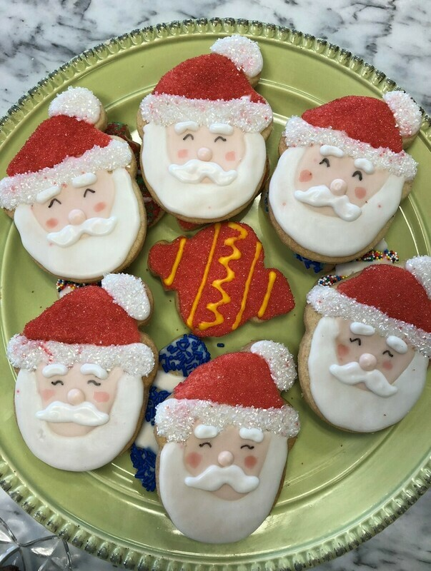 Holiday Cookie Decorating with Chef Jill Sassoon / Sunday, December 6 @ 3pm