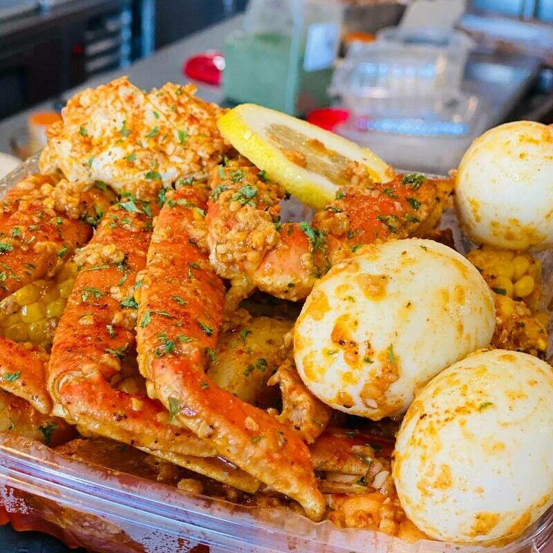 Boujie Crab & Shrimp Boil Bowl for Two INCLUDES KIT / Sunday, January 17 @ Noon