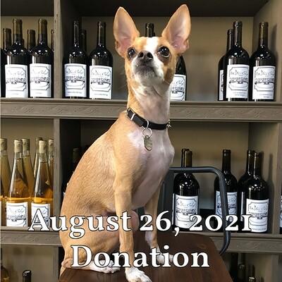Winery Dog Fundraiser