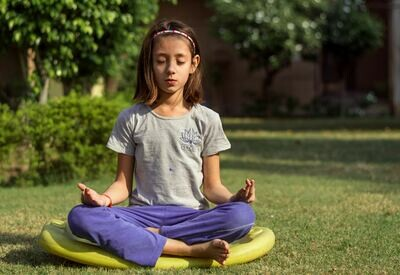 Online Kids yoga Tuesdays 4pm