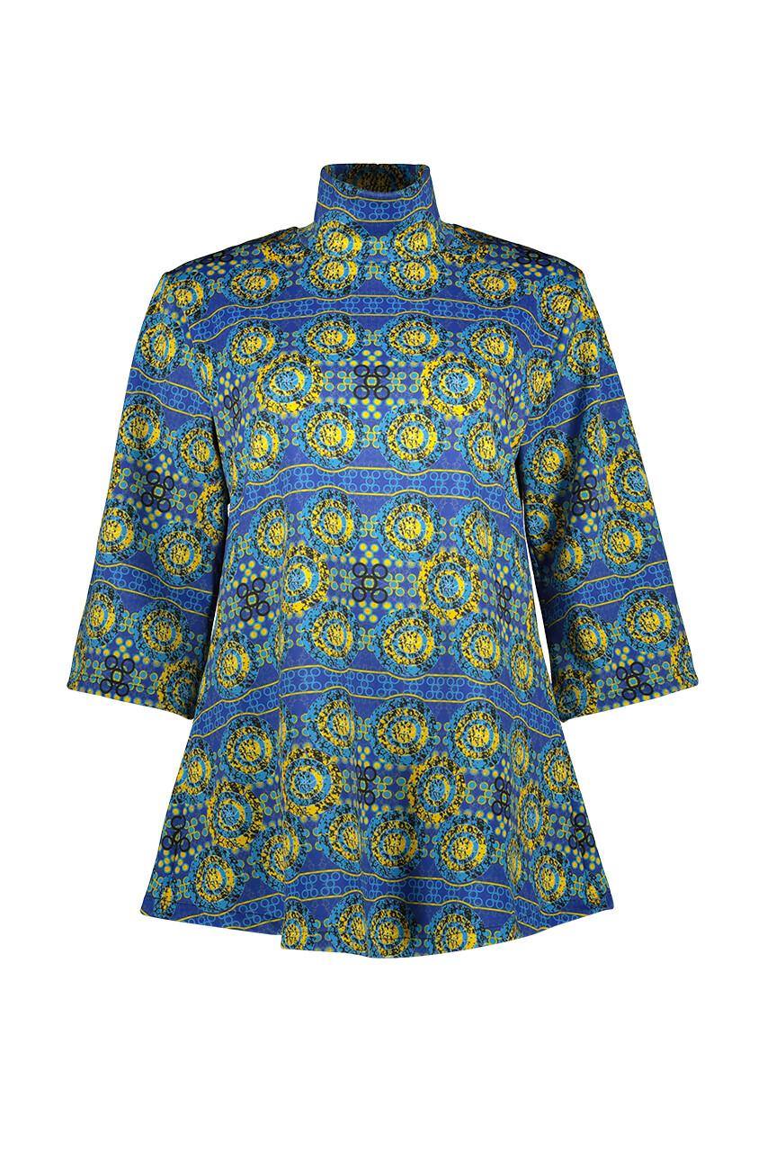 ROYALITY   KIMONO  SHIRT DRESS