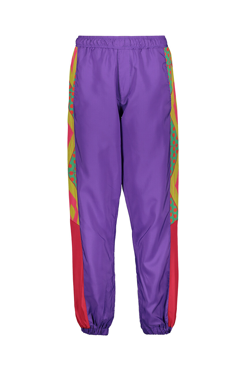 PURPLE TRACK PANTS