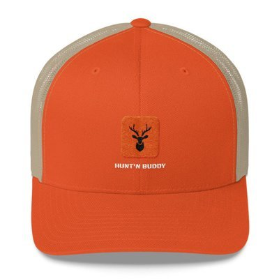 Blaze Orange Hunt'n Buddy Trucker Cap