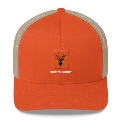 Blaze Orange Hunt'n Buddy Trucker Cap