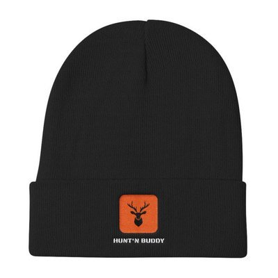 Hunt'n Buddy embroided Knit Beanie