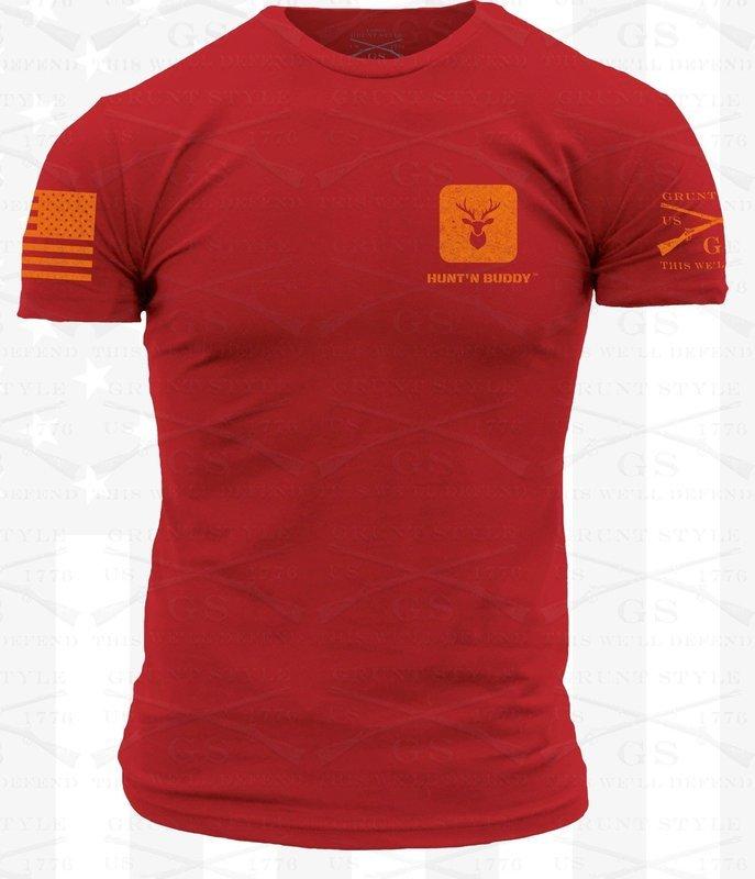 Grunt Style R.E.D. Hunt'n Buddy Logo Shirt