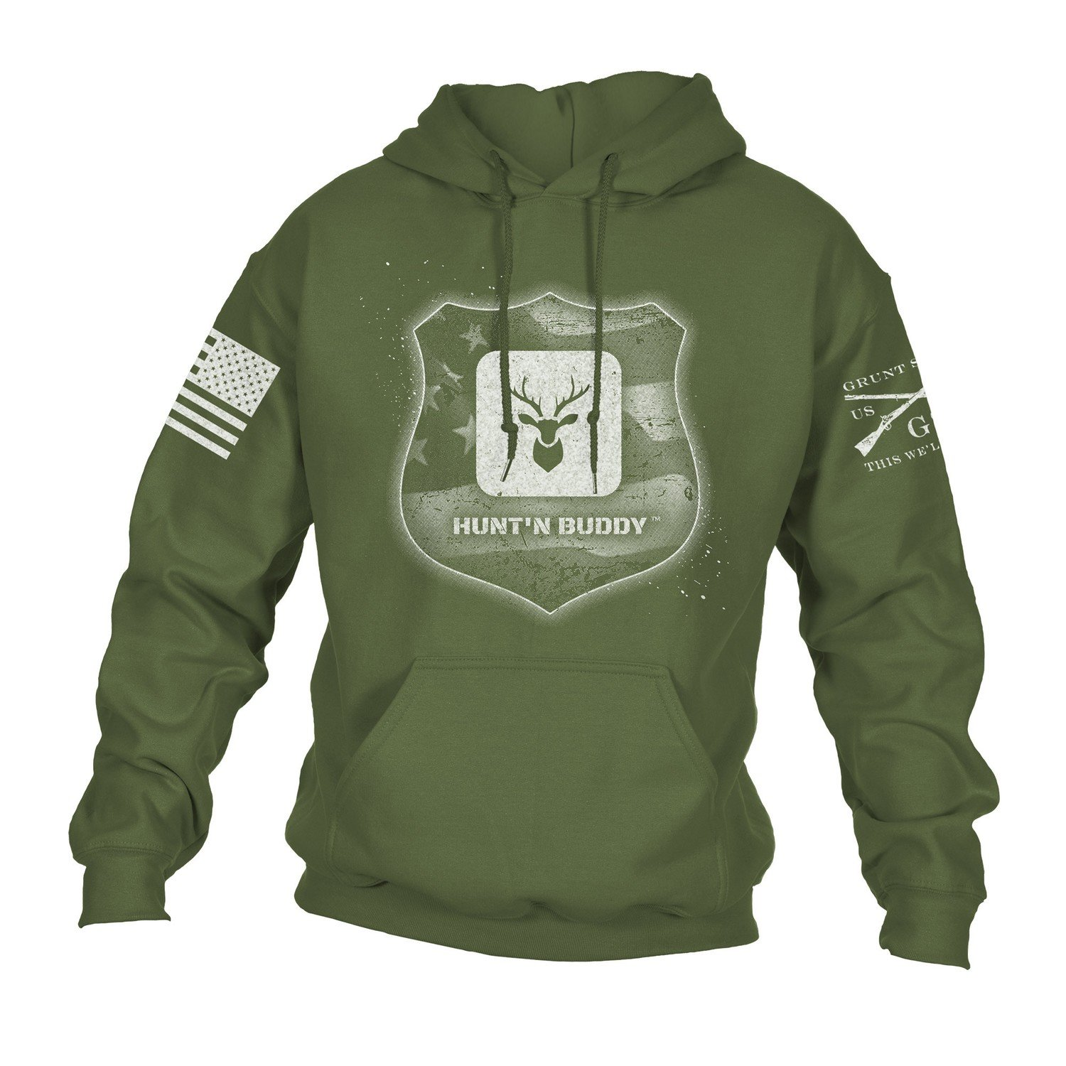 Grunt Style Back the Blue Support Hoodie