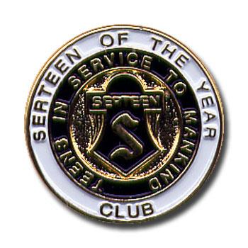 Club Serteen of the Year Pin