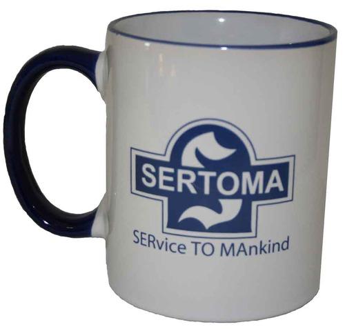 White 12 oz Coffee Mug