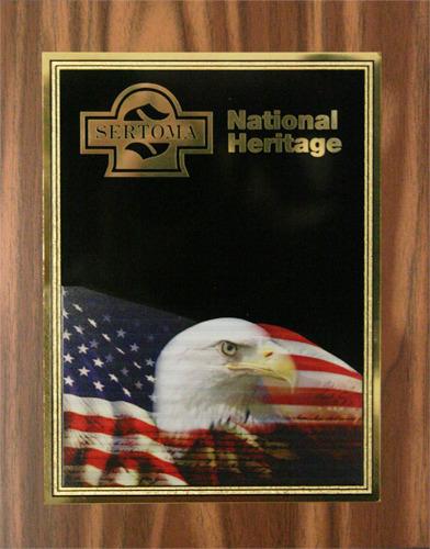 National Heritage Plaque