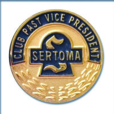 Club Past Vice President Pin