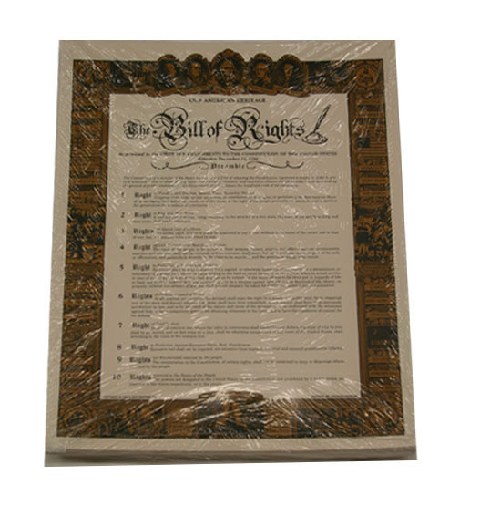 Bill of Rights - Small