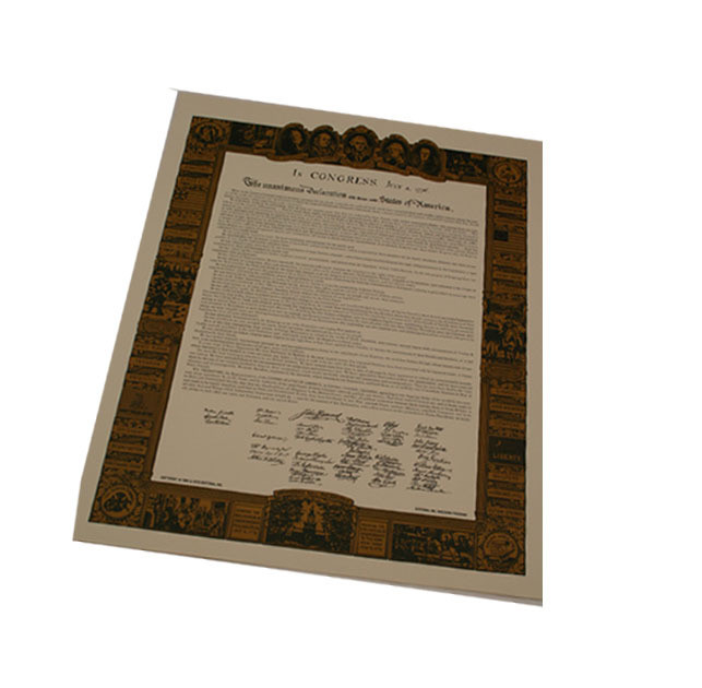 Declaration of Independence - Large