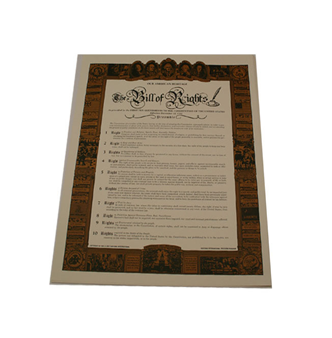 Bill of Rights - Large