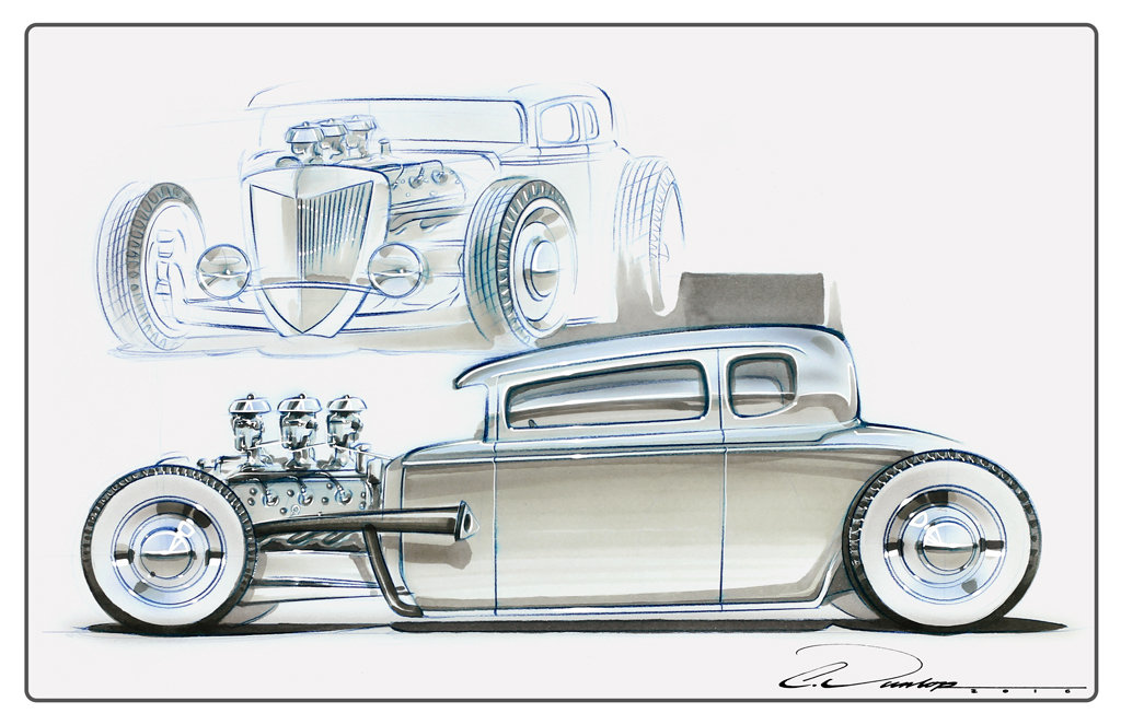 """""""Traditionally NonTraditional Hot Rod"""""""