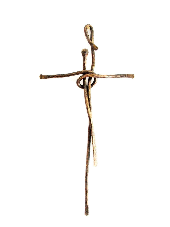 Croce Stilizzata (Ferro Battuto)