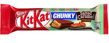Kit Kat Salted Caramel Fudge