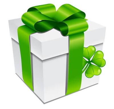 St Patrick's Day Mystery Box