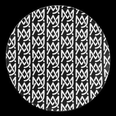 MJA Monogram Dab Mat