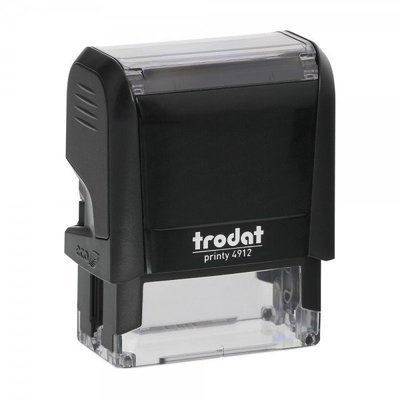 TRODAT 4912 - TESTO 4 RIGHE - MM 48x18