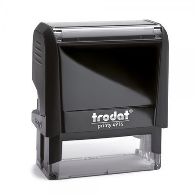 TRODAT 4914 - TESTO 6 RIGHE - MM 64x26