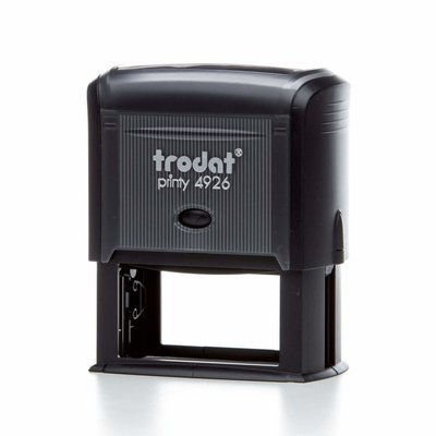 TRODAT 4926 - TESTO 8 RIGHE - MM 75x38