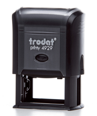 TRODAT 4929 - TESTO 6 RIGHE - MM 50x30