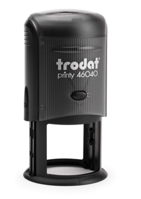 TRODAT  4638 - TESTO 7 RIGHE - DIAM MM 38