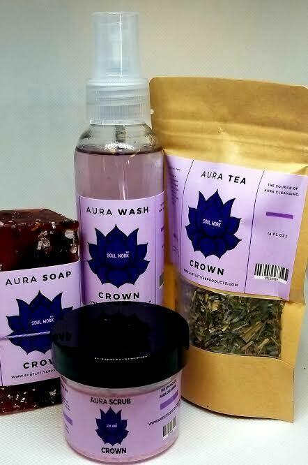 Crown Chakra Balancing - Aura Freshener Gift Package